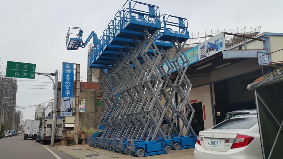新進1櫃全新6米高空車.21米高空車.固特立高空作業車0985623777 (4)